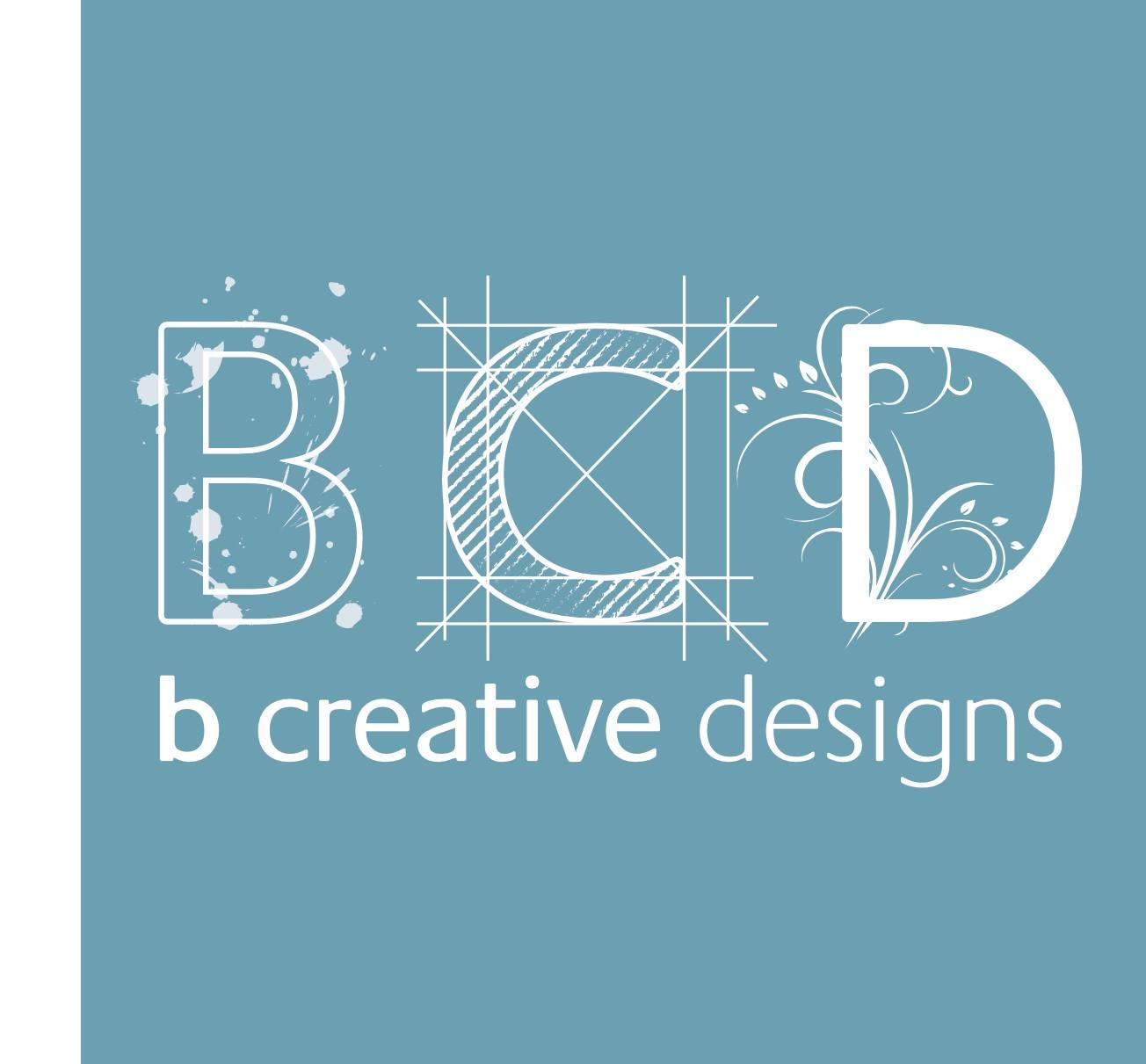 B creative designs logo